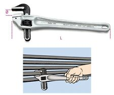 Beta Tools 365 350mm Heavy Duty Pipe Wrench Offset Pattern Made From Light Alloy