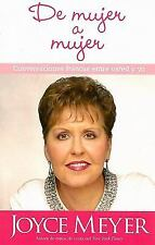 De mujer a mujer From Woman to Woman (Spanish Edition)
