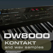 KORG DW8000 for KONTAKT 425 .nki PATCHES 3426 WAV SAMPLES 24BIT HIGH QUALITY