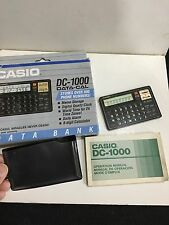 VINTAGE CASIO DC-1000 CREDIT CARD DATA-CAL SUPER CALCULATOR 1970S-1980S