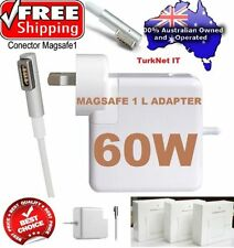 60W AC Power Adapter Charger Magsafe 1 L for Macbook Pro '13 A1184 A1344