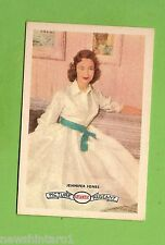 #D160. 1958-64  ATLANTIC PETROLEUM FILM STARS CARD #26  JENNIFER JONES