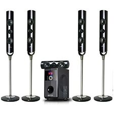 BEFREE 5.1 CHANNEL SURROUND SOUND BLUETOOTH SPEAKER SYSTEM with FM RADIO NEW