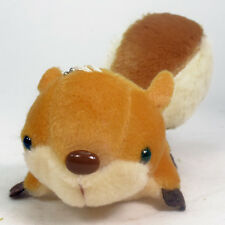Mini Brown Baby Squirrel Plush Stuffed Animal Toy Keychain Suction Cup New