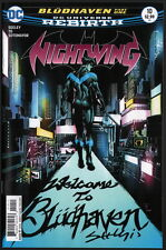 Tim Seeley SIGNED Nightwing #10 / DC Universe Rebirth Comic / Batman Family