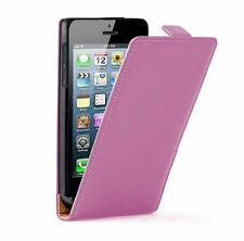 ULTRA SLIM Leather Flip Case Mobile Phone Cover for Apple iPhone 5 / 5S / 5GS
