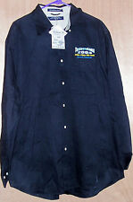 Men's Size XL Black Long Sleeve Fishing Shirt Tournament Bass Cat Boating Fish