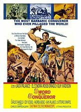 SWORD OF THE CONQUEROR (1961 Jack Palance) DVD - UK Compatible - New & sealed