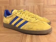 RARE�� Adidas Spezial Gold True Blue Brown Gum Sz 11.5 Canary Yellow Trai
