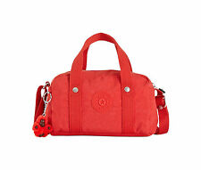 NWT KIPLING DANIELLA SATCHEL PURSE - CROSSBODY - CAYENNE RED HB6646