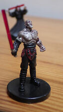 Darth Sion, VR Star Wars Miniature, Knights of the Old Republic WotC, with Card