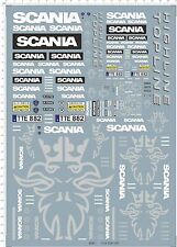 1/14 1/24 1/87 decal Tractor Truck Scania for model kits 528C
