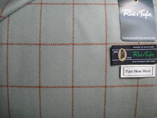 "100% PURE NEW WOOL TWEED MADE IN SCOTLAND BY ""Reid & Taylor"" (Scotland) - 2.0 m"