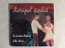 "MINI CD 3"" ROSSIGNOL ECARLATE En ecoutant Bunuel Elle otait .. ADD 176"