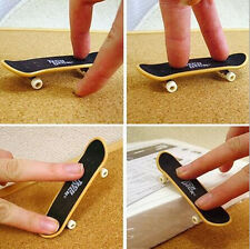 Fashion Mini Kids Children Finger Board Tech Deck Truck Skateboard Funny Toys yy