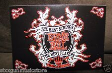 "Ernie Ball Strings ""King Of The String"" decal sticker, Ships Worldwide"