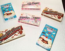 6 BOXES Mike And Ike Assortment Cotton Candy Root Beer Sundae Sweets 5oz Chewey