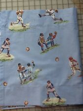 Custom Valance~Old Time Baseball ~ Pottery Barn Kids, 88 By 15 PBK ~ Blue
