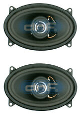 "DNF (1 Pair) 2 Way 4"" x 6"" Speakers 220 Watts Maximum Power - FREE SHIPPING!"