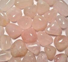 Tumbled Rose Quartz; Brazil; 1/4 # (7-8 stones); Med-Lg; pocket stone; Chakra