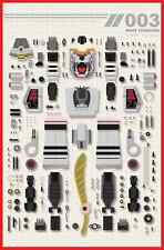 Mighty Morphin Power Rangers #3 White Tiger Zord Chu Variant PRE-SALE 5/11/16