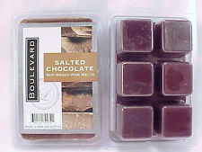 Salted Chocolate Scented Boulevard Candle Soy Wax Tart Melts
