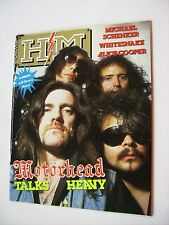 HM - RIVISTA METAL - #32 WITH STICKERS - MOTORHEAD - MSG - WHITESNAKE