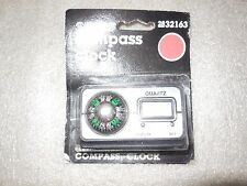Vintage Sears Auto Compass Clock Car Compass New Old Stock NOS 2832163