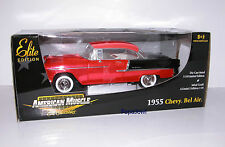 American Muscle Ertl Brigt Red Anodized Limited Edition 1955 Chevrolet 55 Chevy