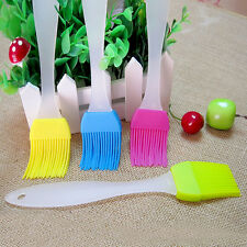 3× Silicone Baking Bakeware Pastry Bread Cook Oil Cream BBQ Tool Basting Brush