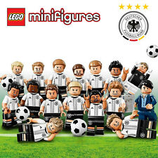 Lego 71014 DFB Germany Football Team Minifigure : Complete Full Set 16pcs - New