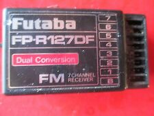 FUTABA 7 CHANNEL FM FP-R127DF DUAL CONVERSION RECEIVER #31 1991 NARROW BAND