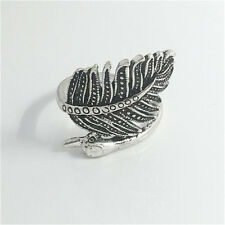 Vintage Woman 316L Stainless Steel Vogue Design Mini Peacock Ring Size 8  NEW