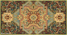 "38.5"" DECORATIVE TAPESTRY TABLE RUNNER Medieval Ornament EUROPEAN ACCENT MAT"