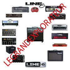 Ultimate Line 6  Audio  Repair Service Schematics Manuals  (115 manual s on DVD)