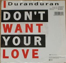 "Duran Duran, I don't want, VG+/EX 7"" Single 0714"