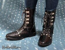 1/3 bjd 70-80cm Iplehouse EID HID doll black huge boots shoes S-97XL ship US