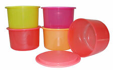 Nuevo verano Spl Tupperware One Touch Topper (4 +1 Gratis) - Multicolor conjunto de recipiente