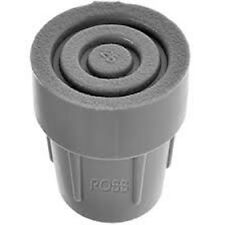 1 x punta di stampella 25mm FERRULES REGOLABILE bastoni da passeggio telaio gomma naturale (755)