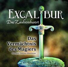 EXCALIBUR - DAS ZAUBERSCHWERT - TEIL 1: DAS VERMÄCHTNIS DES MAGIERS  CD NEU