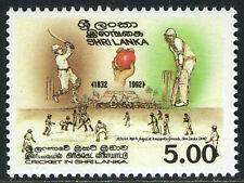 Sri Lanka 1053, MNH. Cricket in Sri Lanka, 160th anniv. 1992