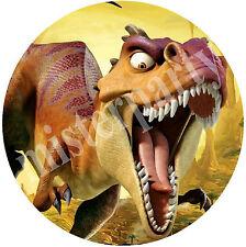Cialda - Ostia per torte Dinosauro T.Rex - Anche tonda e personalizzabile!