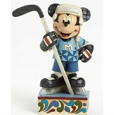 Jim Shore Mickey Hockey Player Disney Traditions 4043486 Refuse to Lose MIB RARE