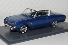 FORD TAUNUS 17m p3 Coupe Blu-Bianco 1:43 Neo NUOVO & OVP 46200