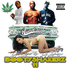 Bootyshakerz Music Video Mix DVD Vol.11 Old Skool West Coast Rap Hip-Hop