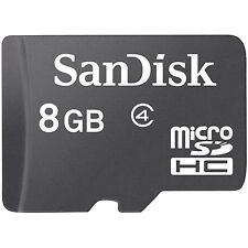 10 x Original SanDisk 8G 8GB MicroSDHC Micro SD SDHC 8G 8GB Class 4 Memory Card