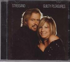 BARBRA STREISAND & BARRY GIBB - GUILTY PLEASURES - CD -
