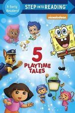 Five Playtime Tales (Nick, Jr.) (Step into Reading)