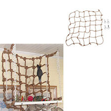 Parrot Birds Climbing Net Jungle Fever Rope Small Animals Swing Ladder Chew Toy