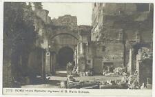 83943 ANTICA FOTO CARTOLINA DI ROMA 1912 SPEDITA